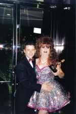 kent gryphon & beverly buttercup At Diva awards 1999