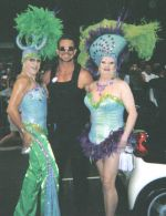 Melicious Damage - Ian - Beverly Buttercup at Mardi Gras 2005.