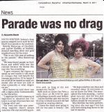 Beverly Buttercup & Laydee KinMee in the Macarthur Advertiser March 09th 2011