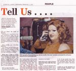 Beverly In The Liverpool Leader , 07.09.11
