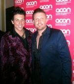 Jace pearson & Robert manser at the honour awards night 29.09.11