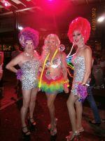 Beverly Buttercup , Amelia Aaihead , Prada At Mardi Gras Party 03.03.12.