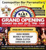 Beverly Buttercup . Prada Clutch , Christina Dior , Hugh Monroe @ The Rainbow Party - Parramatta - May 2012.