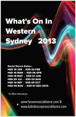 WHAT'S ON IN THE WEST 2013