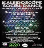 KALEIDOSCOPE SOCIAL DANCE - POSTER 2014