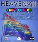 2 Gay 2 Function Poster 2014